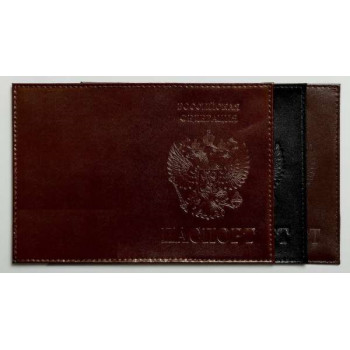 Обложка для паспорта лак. кожа с выдавле..