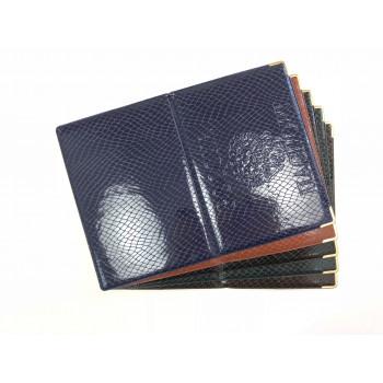 Обложка на паспорт из ПВХ змея с тиснени..
