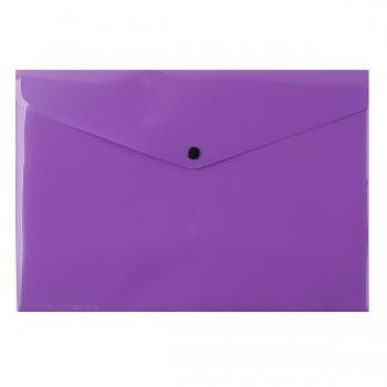 Папка-конверт на кнопке А4 200мкм, непро..
