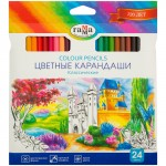 Карандаши цветные, Классические, 24 цвет..