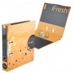 Регистратор 50мм ламинир iFRESH-апельсин..