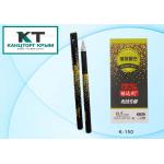 Ручка гелевая черная 0,5 мм, игольч.,