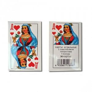 ИГРАЛЬНЫЕ КАРТЫ 36 карт