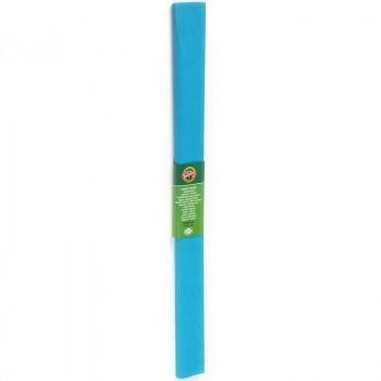 Креп-бумага Koh-I-Noor, голубой, 2000х500 мм..