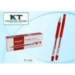 Ручка шариковая красная на масляной основе