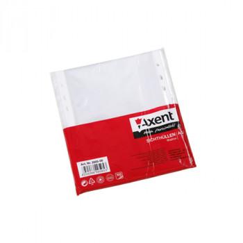 Файл А5, глянцевый, 40мкм AXENT (100 шт...