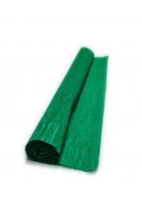 Гофрированная бумага плотная (флористическая 50мм х 250 мм,120 г/м2) зеленая