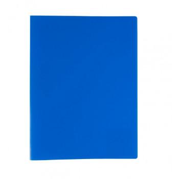 Папка А4 мет. прижим 450 мкр.15 мм синий,