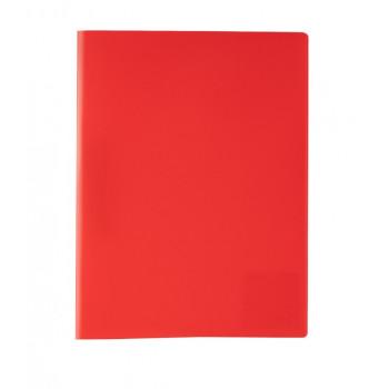 Папка А4 мет. прижим 450 мкр. 15 мм красный,