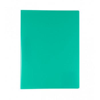 Папка А4 мет. прижим 450 мкр.15 мм  зеленый,