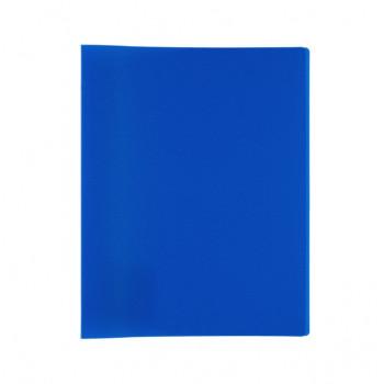 Папка А4 на 4 кольцах 450 мкр. 25 мм Classic синий..