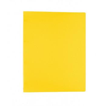 Папка А4 на 4 кольцах 450 мкр.25 мм  Classic желты..