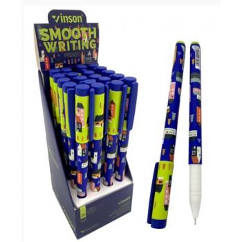 Ручка масляная VINSON CF-58 (син) 0,7мм ..