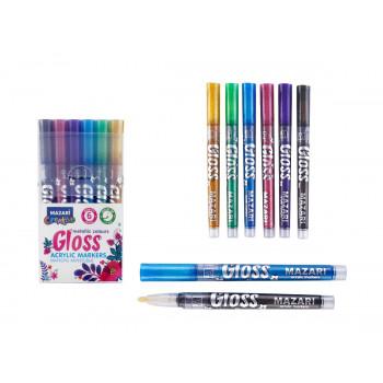 Набор маркеров-красок с эффектом