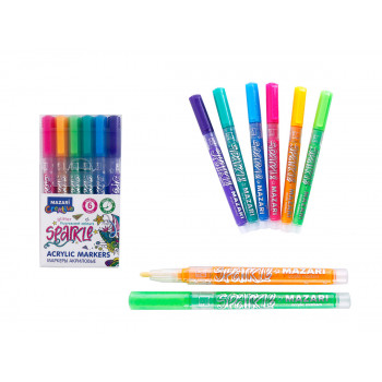 Набор маркеров-красок с блёстками SPARKL..