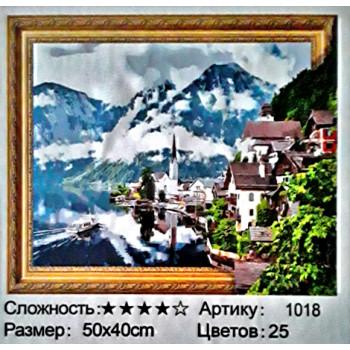 Алмазная мозаика: 50*40 см, сложность 4*; 5D эффек..