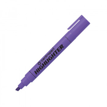 Текстмаркер флюоресцентный, фиолетовый а..