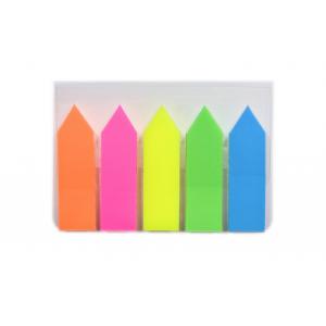 """Набор стикеров-разделителей """"ASMAR"""" (5шт., 1х4см, цвет ассорти, пластик). (24)"""