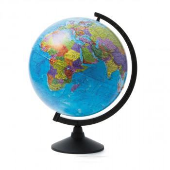Глобус политический, d=320мм, круглая черная подст..