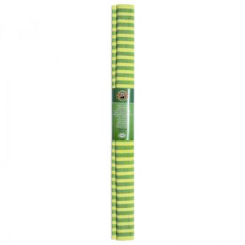 Креп-бумага Koh-I-Noor, желто-зеленая полоска, 200..