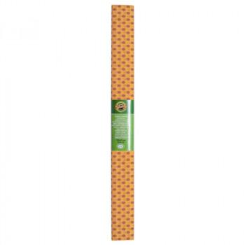 Креп-бумага Koh-I-Noor, оранжевая с красными точка..