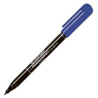 Маркер перманентный, синий, 1 мм, колпачок с клипом ,CENTROPEN