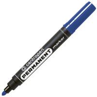 Маркер перманентный, синий, круглый наконечник, 2,5 мм, термостойкие чернила ,CENTROPEN