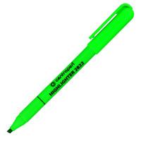 Текстмаркер флюоресцентный, зеленый, 1-3 мм, с клипом CENTROPEN (10)