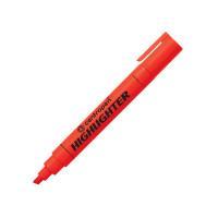 Текстовыделитель, 1-4,6 мм, красный, клиновидный нак., CENTROPEN (10)