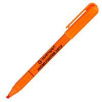Текстовыделитель, 1-3 мм, оранжевый, клиновидный нак., CENTROPEN (10)