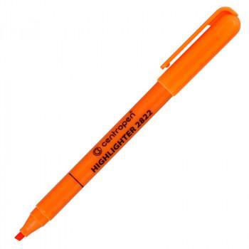 Текстовыделитель, 1-3 мм, оранжевый, кли..