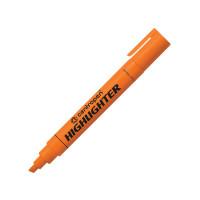 Текстовыделитель, 1-4,6 мм, оранжевый, клиновидный нак., CENTROPEN (10)