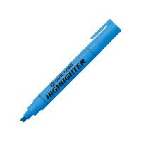 Текстовыделитель, 1-4,6 мм, голубой, клиновидный нак., CENTROPEN (10)