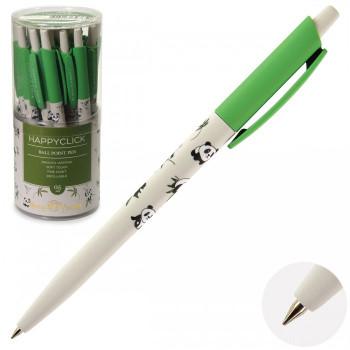 Ручка шар дет авт 0,5 HappyClick Панды 2..