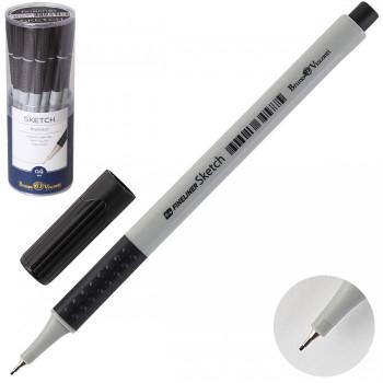 Ручка капил 0.4 однораз SKETCH трехгран ..