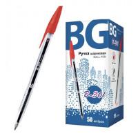 """Ручка шариковая 1.0 мм """"B-301"""", красный, картонная коробка (BG) (50)"""