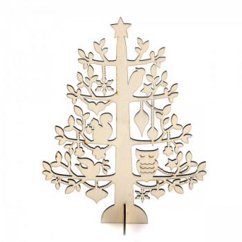 Дерево дерево 230*300*3мм с подставкой 1..