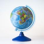 Глобус Земли Политический  (150 мм.Класс..