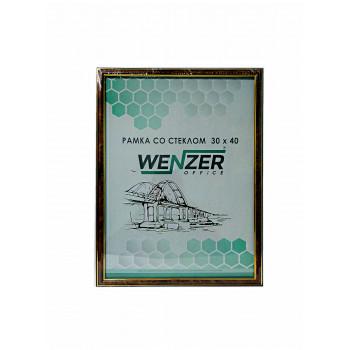 282 Фоторамка пластик 30х40 (темный орех) WENZER O..