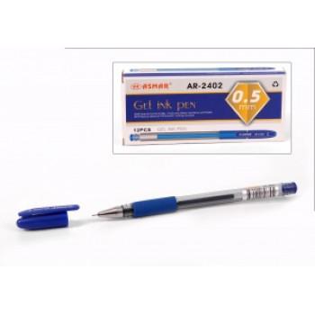 Ручка гелевая синяя игольчатый наконечни..