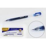 Ручка гелевая синяя с кристаллическим иг..