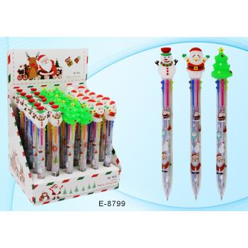 Автоматическая шариковая ручка 6-ти цвет..