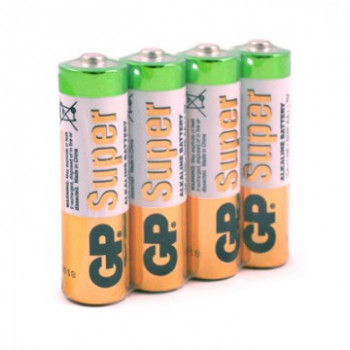 Батарейка LR06 GP Super Alkaline 15A SB4..