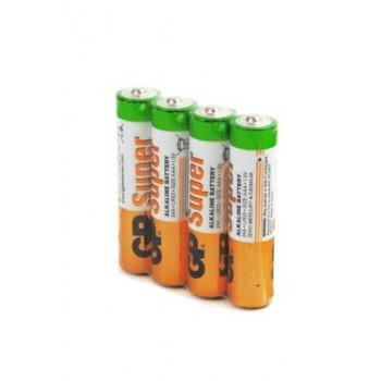 Батарейка LR03 GP Super Alkaline 24A SB4..