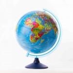 Глобус Земли Политический  (250 мм.Класс..