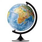 Глобус Земли  Физический  (320 мм. Класс..