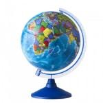 Глобус Земли Политический  (320 мм.Класс..