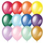 Воздушные шары, 100шт, М9/23см, ассорти,..