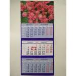 Календарь трио на гребне Букет из роз..