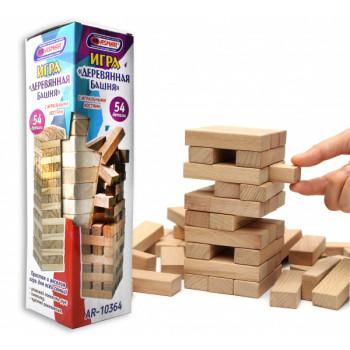Башня 54 детали деревянная